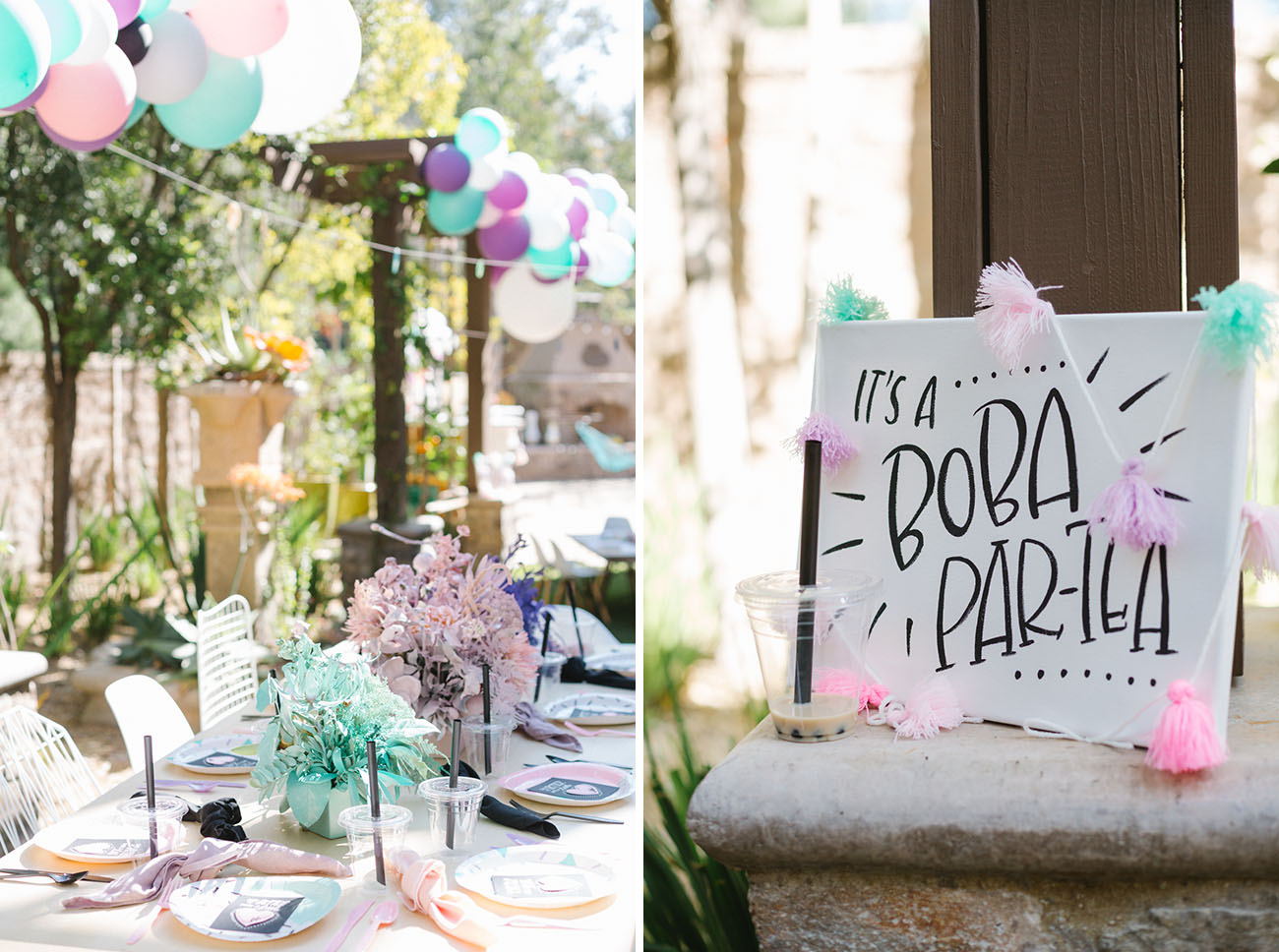 Boba Themed Party Inspiration