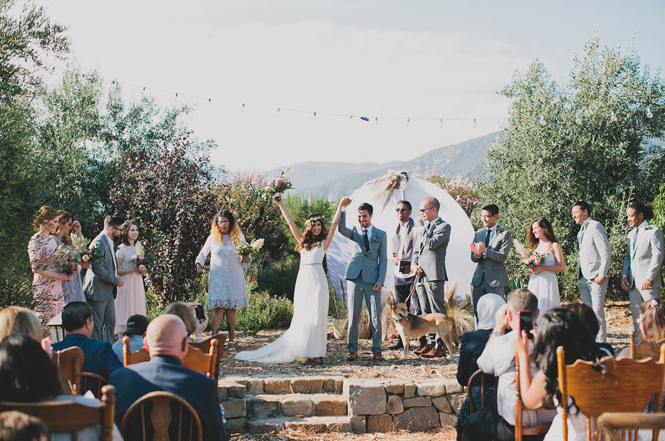 Boho Ojai Ranch Wedding