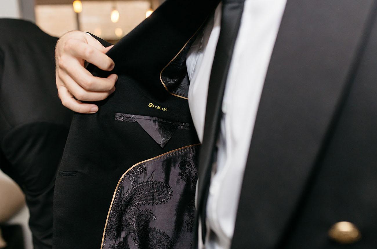 custom suit