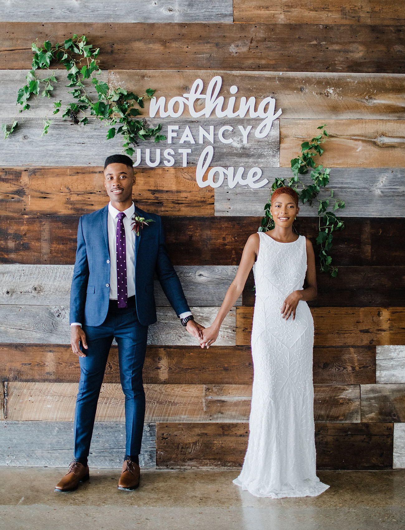 Laid-back Lux, Foodie Wedding Inspiration