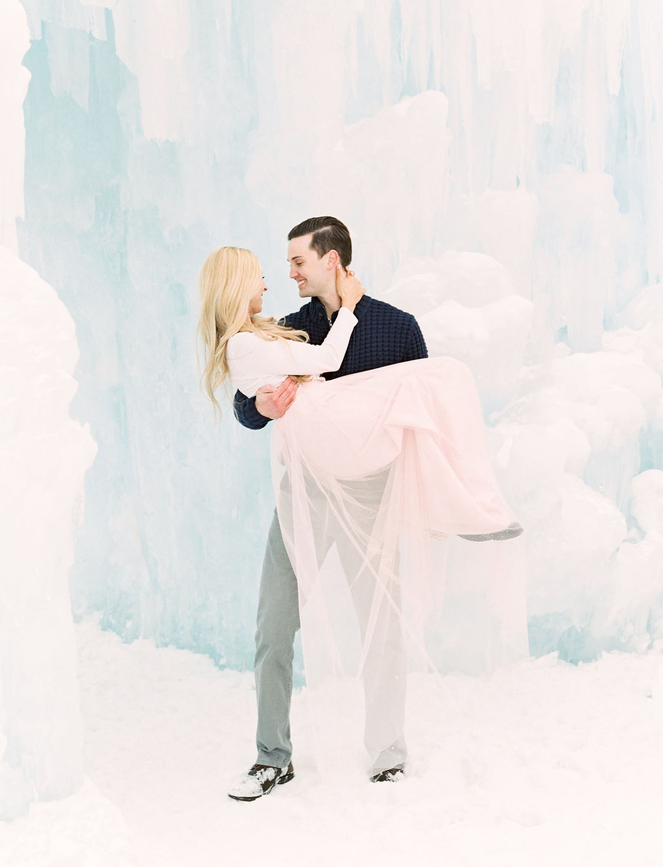 Ice Castles Engagement