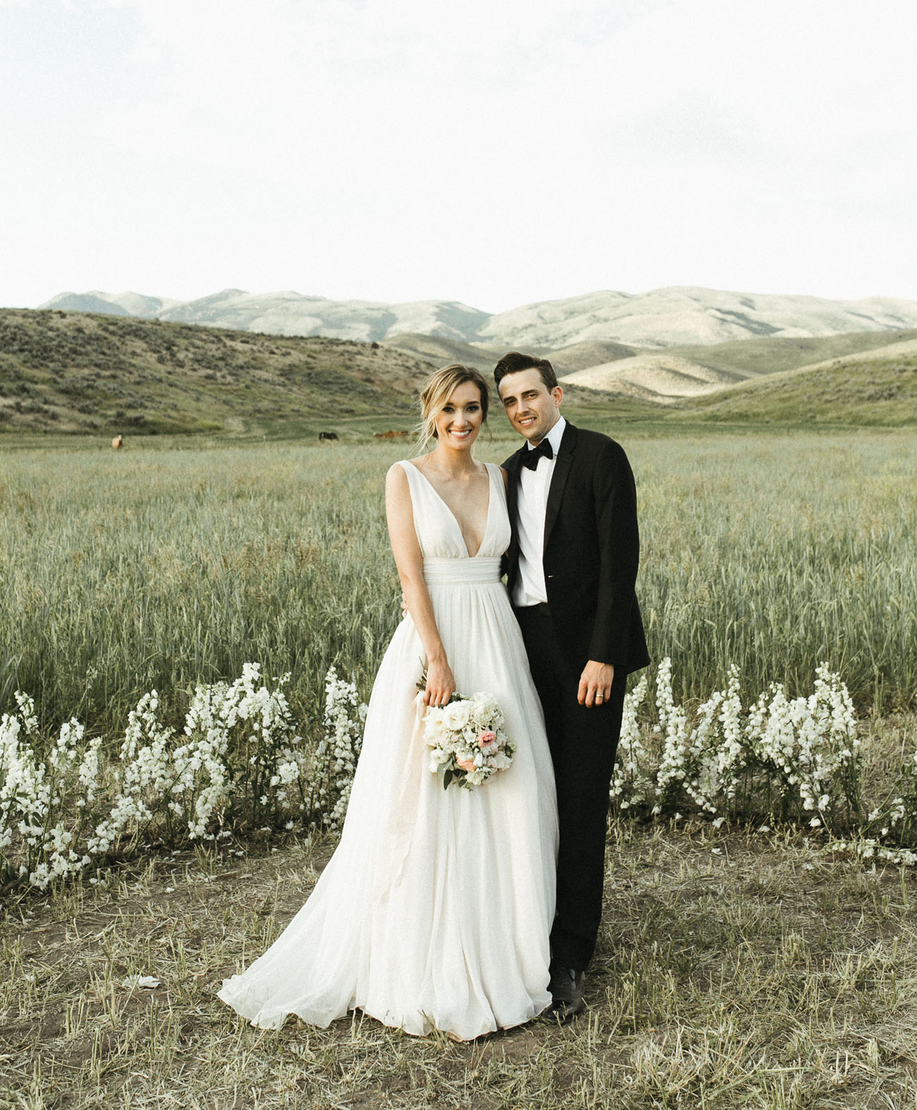 Out In The Wilderness: Modern Meets Rustic Wedding In