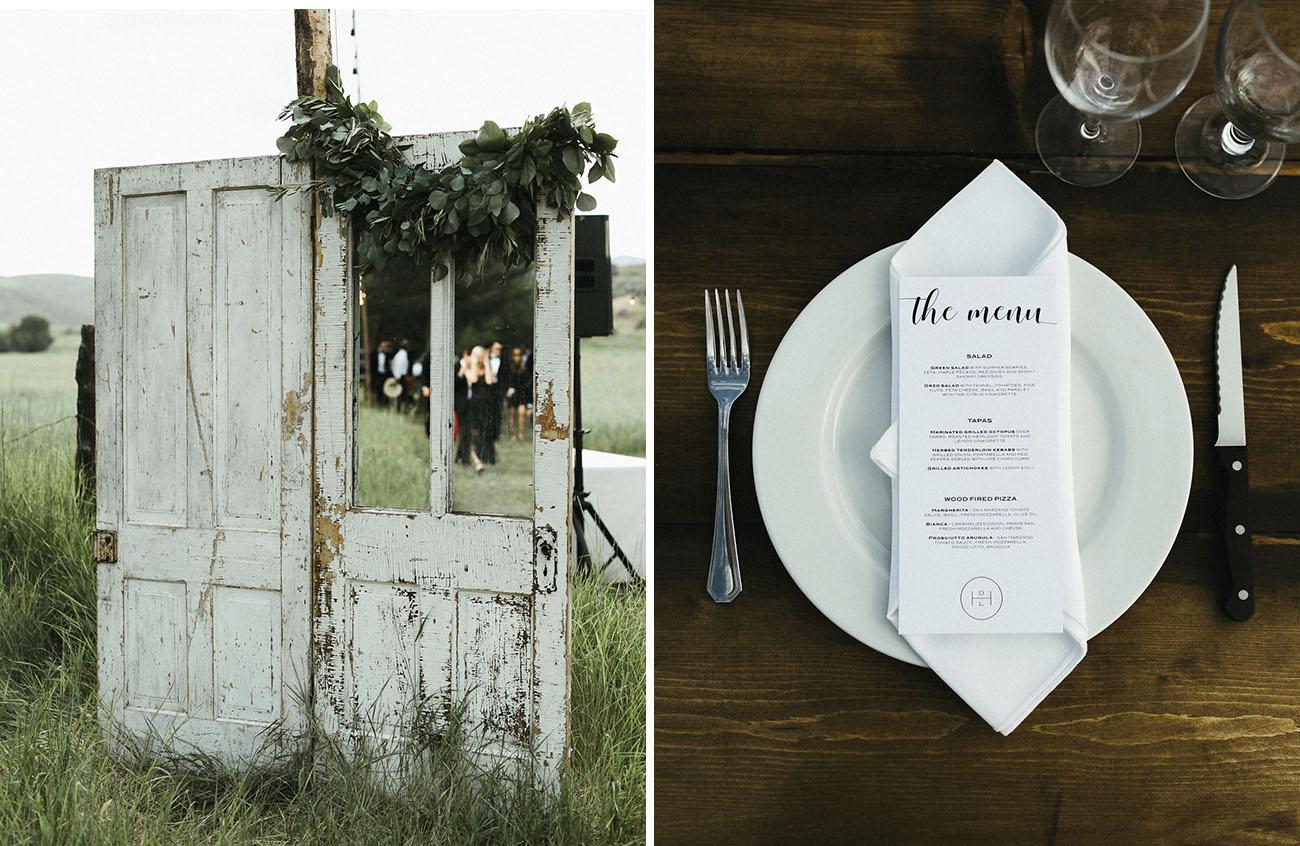Rural Idaho Wedding