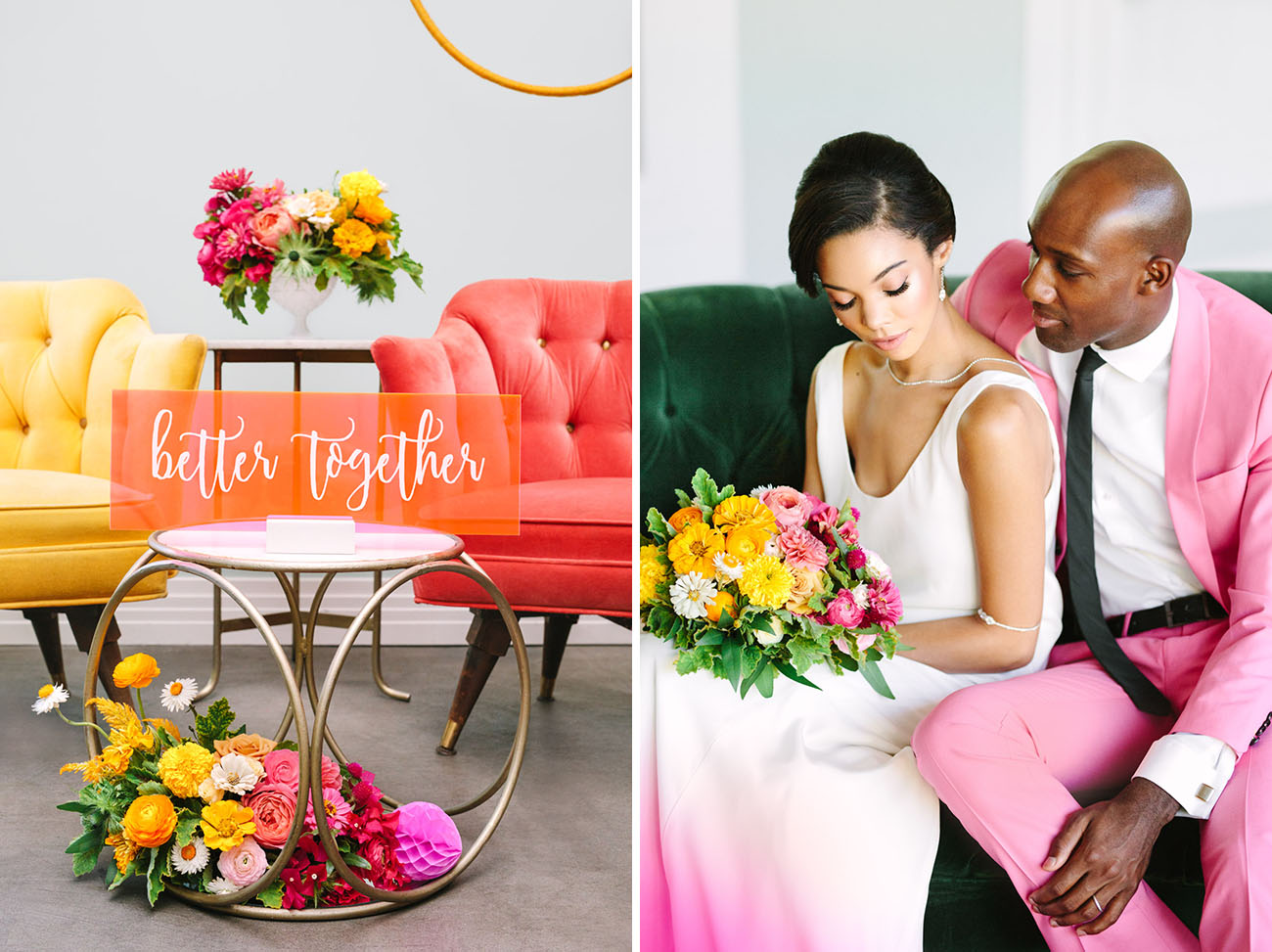 Love Colorfully Styled Shoot