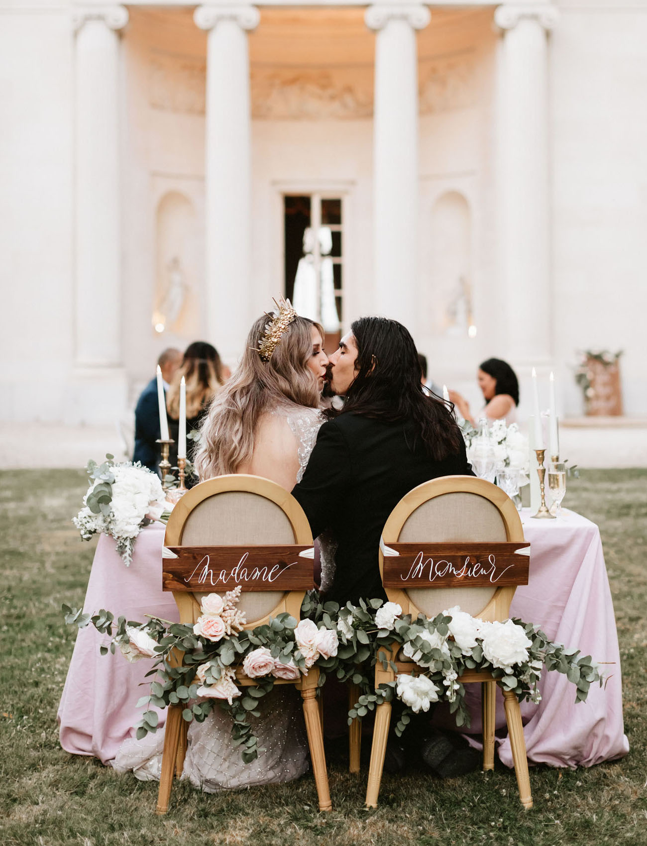 Marie Antoinette Paris Wedding