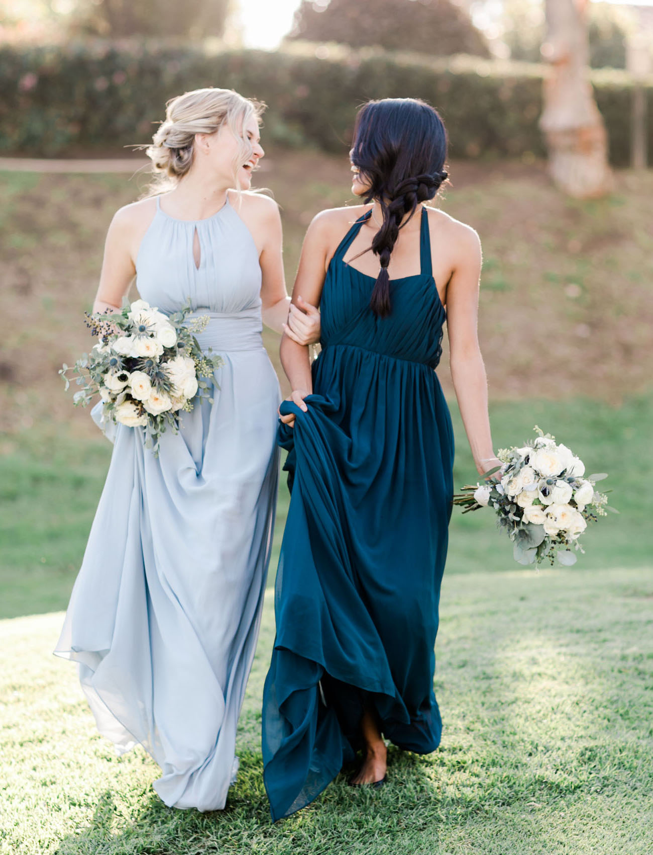 Modern Blue Cool Chambray Wedding Inspiration At The
