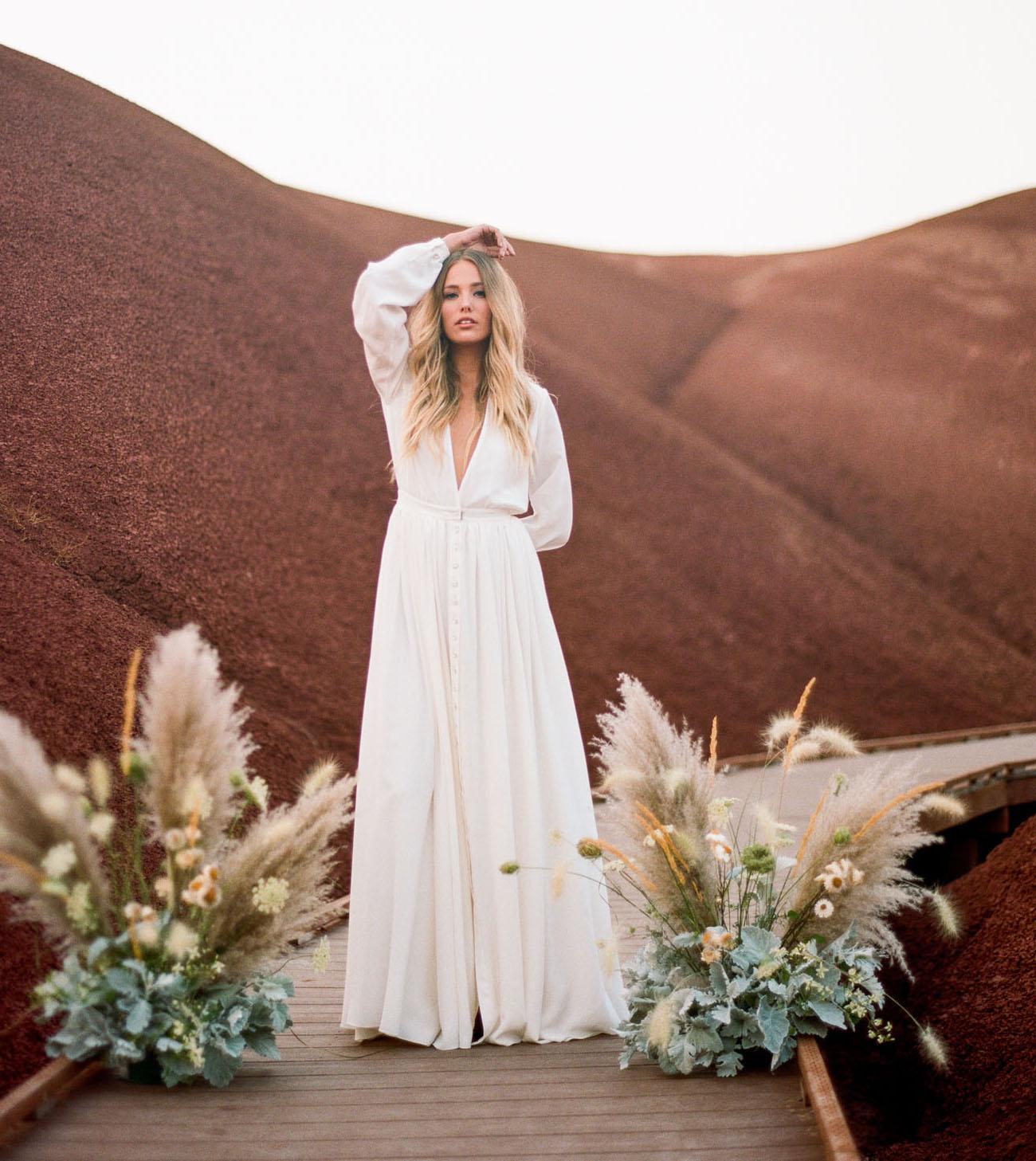 Oregon Desert Bridal Inspiration