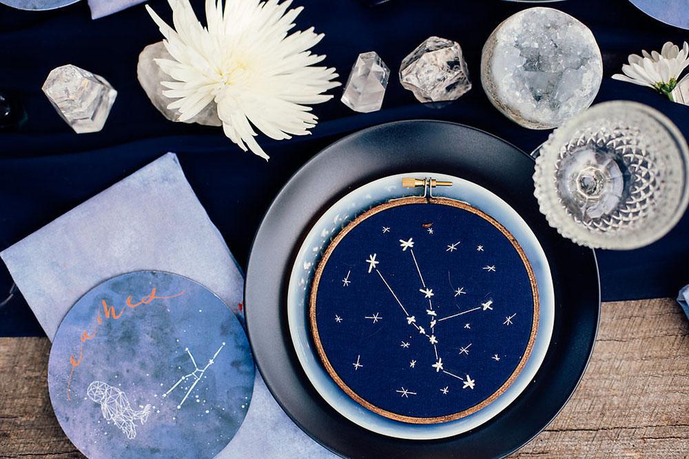 zodiac hoop