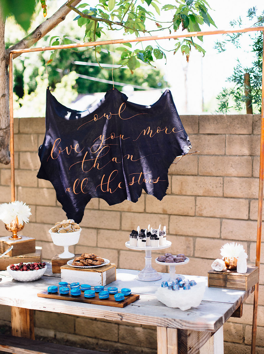 Owl Constellation Bridal Shower