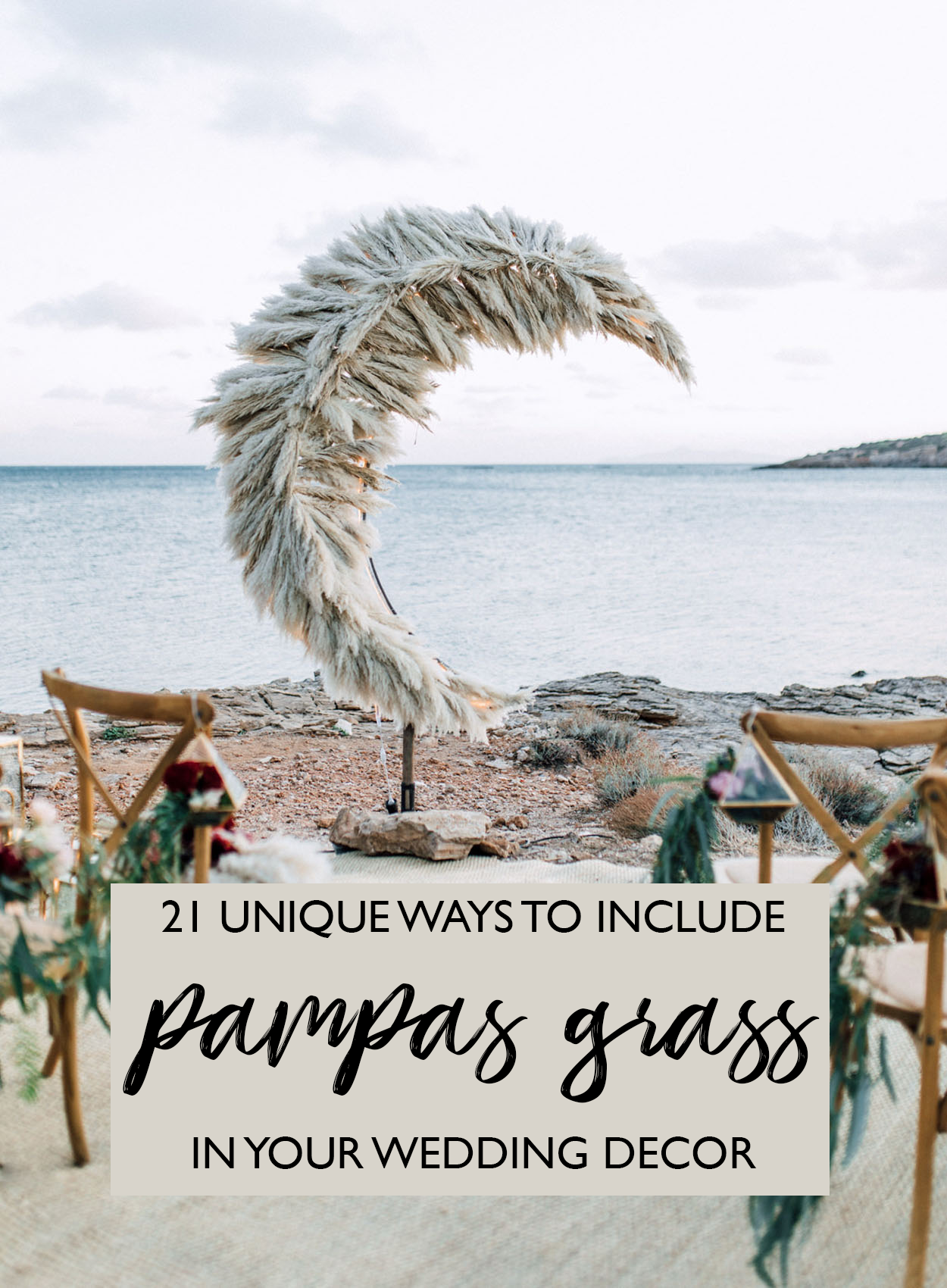 c48865b7dfba 21 Unique Ways to Include Pampas Grass in Your Wedding Decor - Green ...