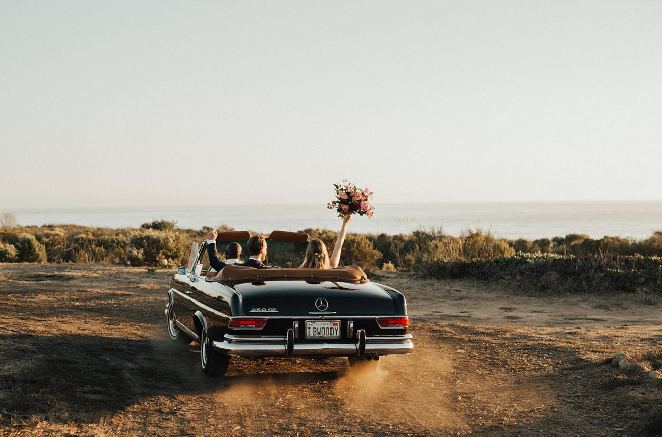 vintage car exit