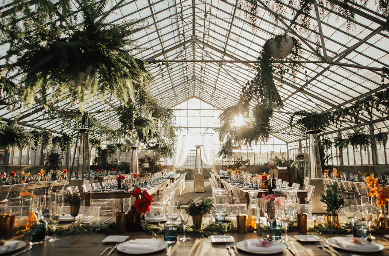 greenhouse reception