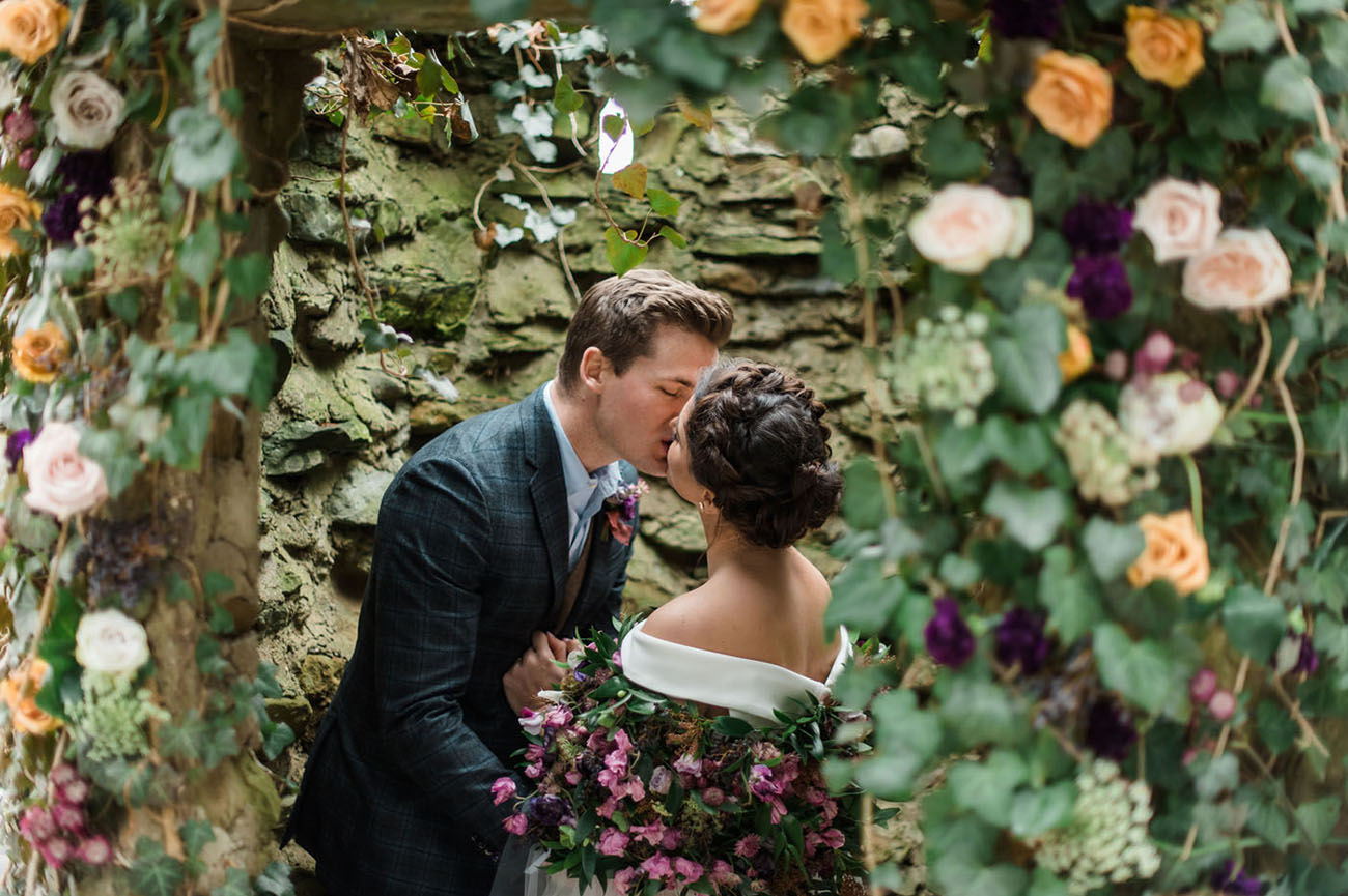 Shakespearian Winter Wedding Inspiration