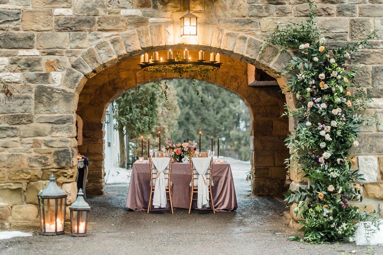 Shakespearian Winter Wedding Inspiration