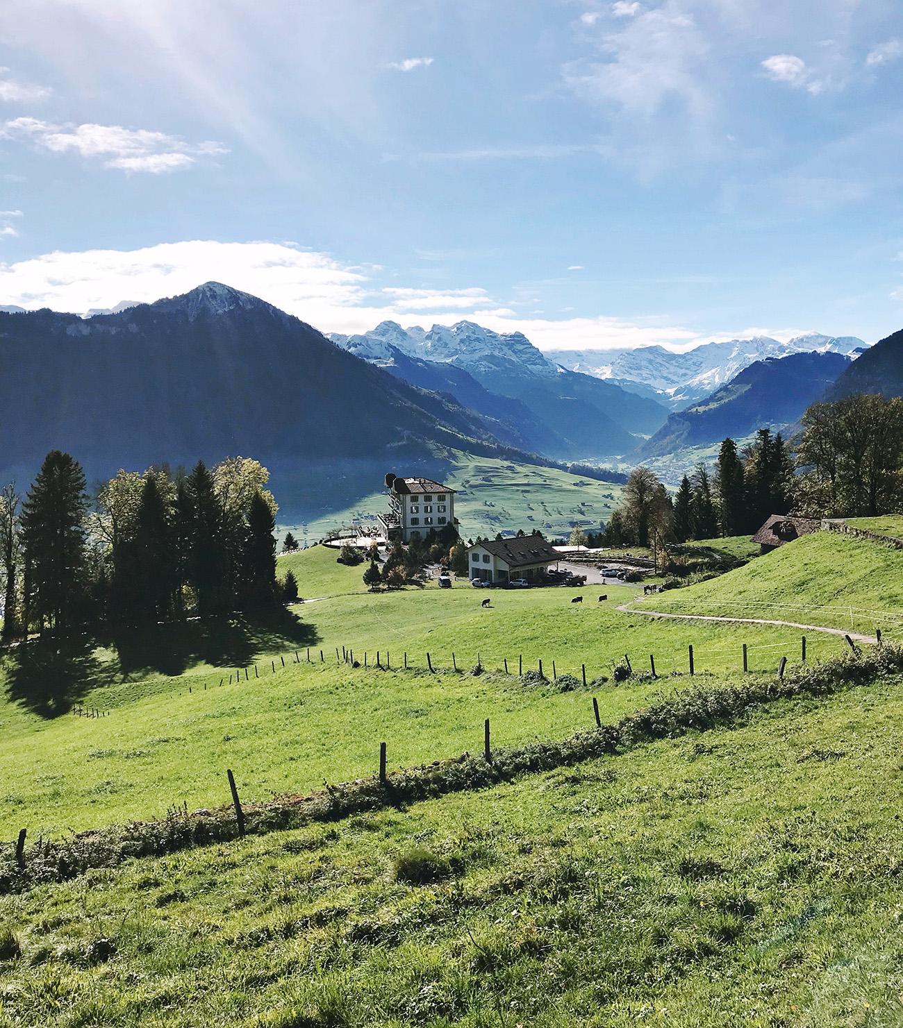 Hotel Villa Honegg Switzerland
