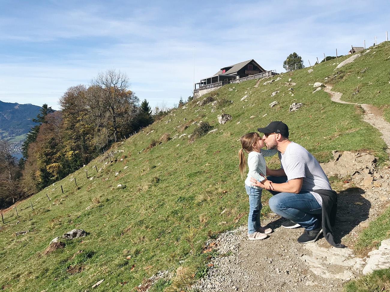 Lake Lucerne Hike Switzerland