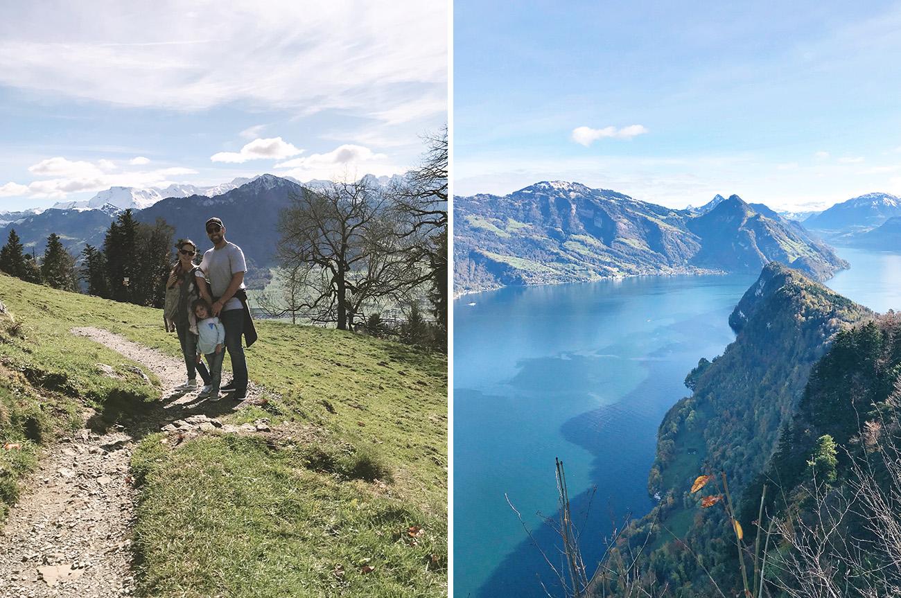 Hiking at Hotel Villa Honegg Switzerland