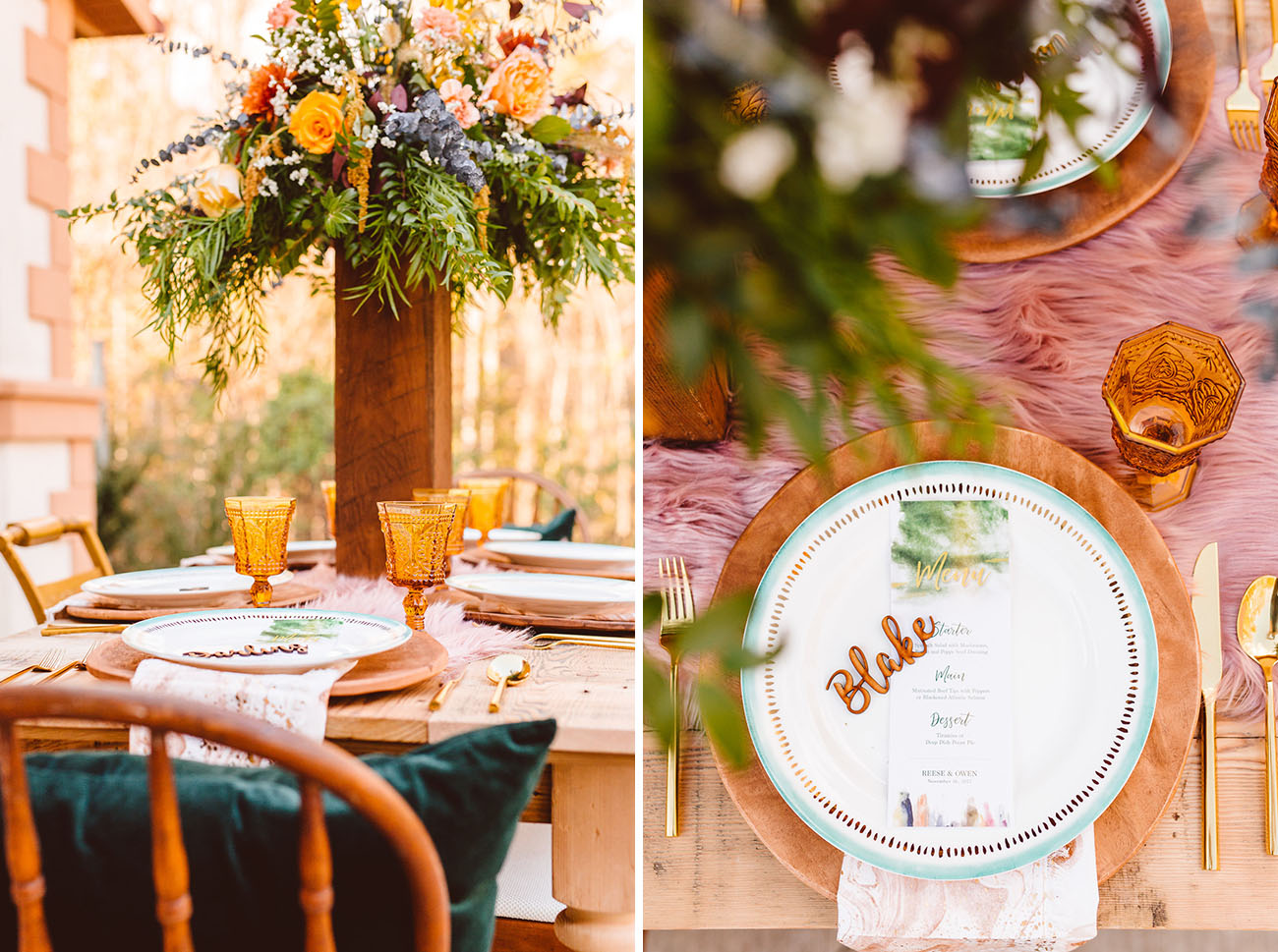 Avant Garde Tuscan Wedding Inspiration