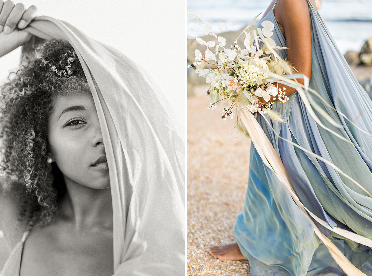 Go With the Flow: A Boho Bridal Inspiration at High Tide - Green ...