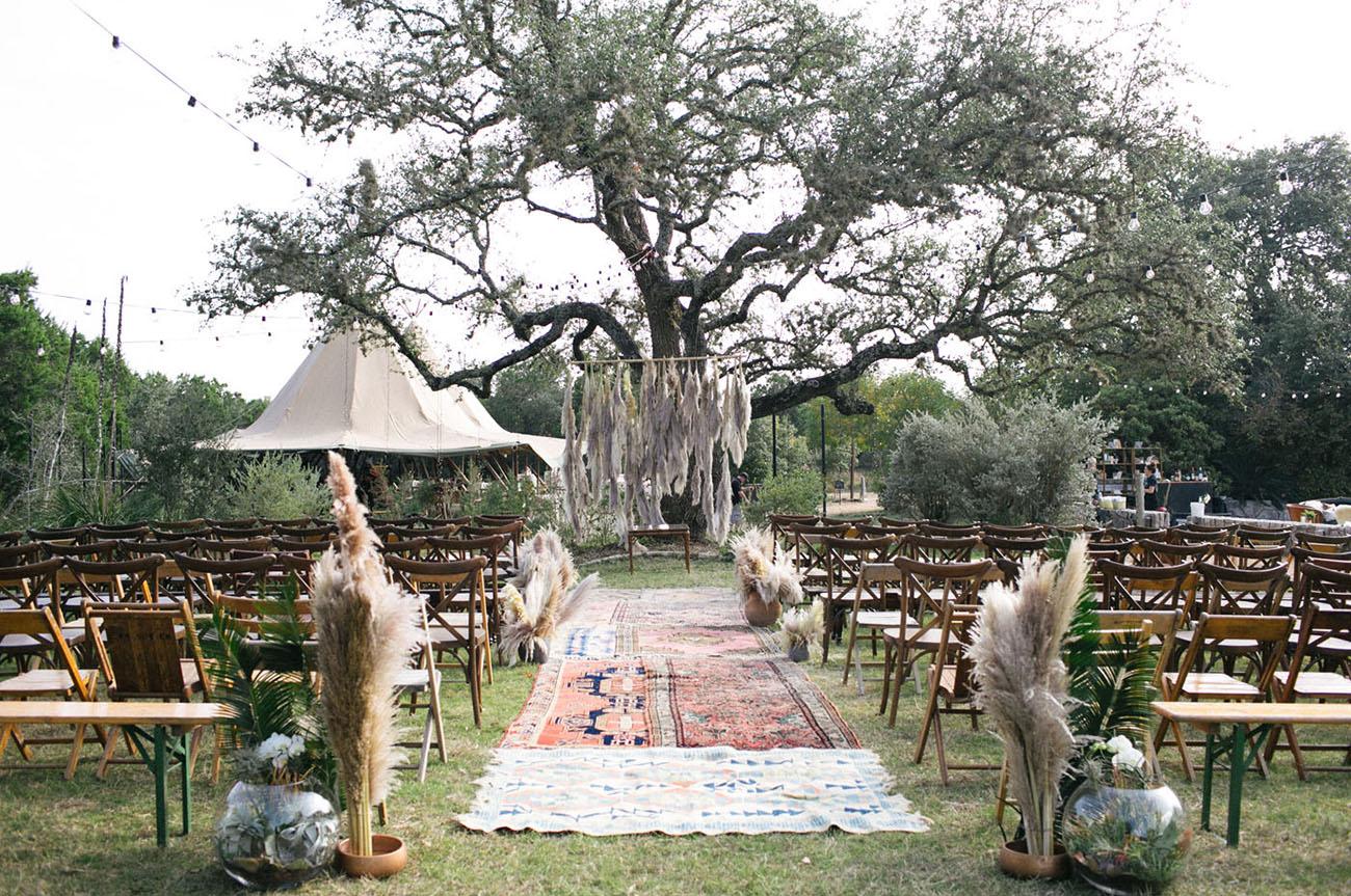 boho ceremony