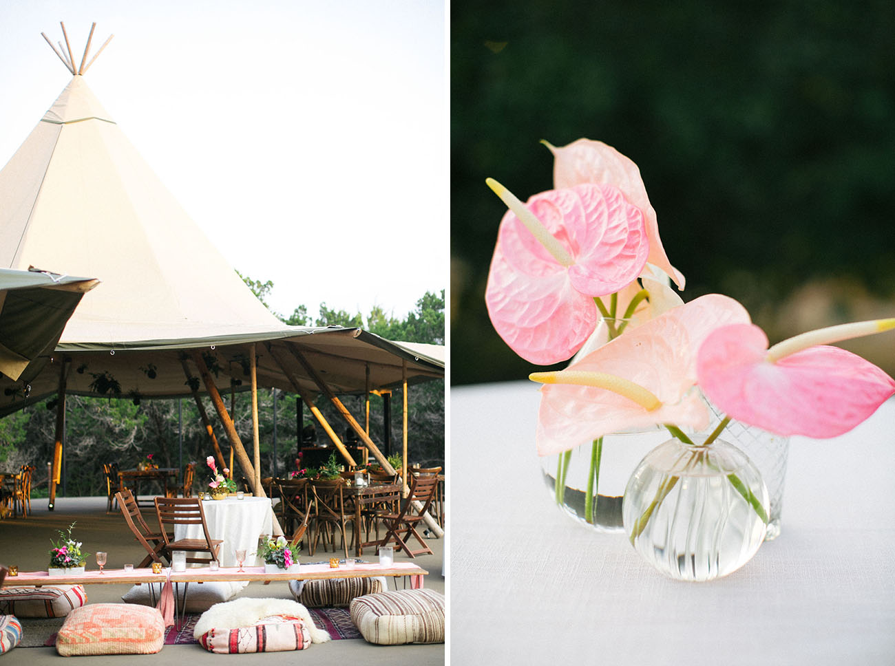 Bohemian Garden Party Wedding
