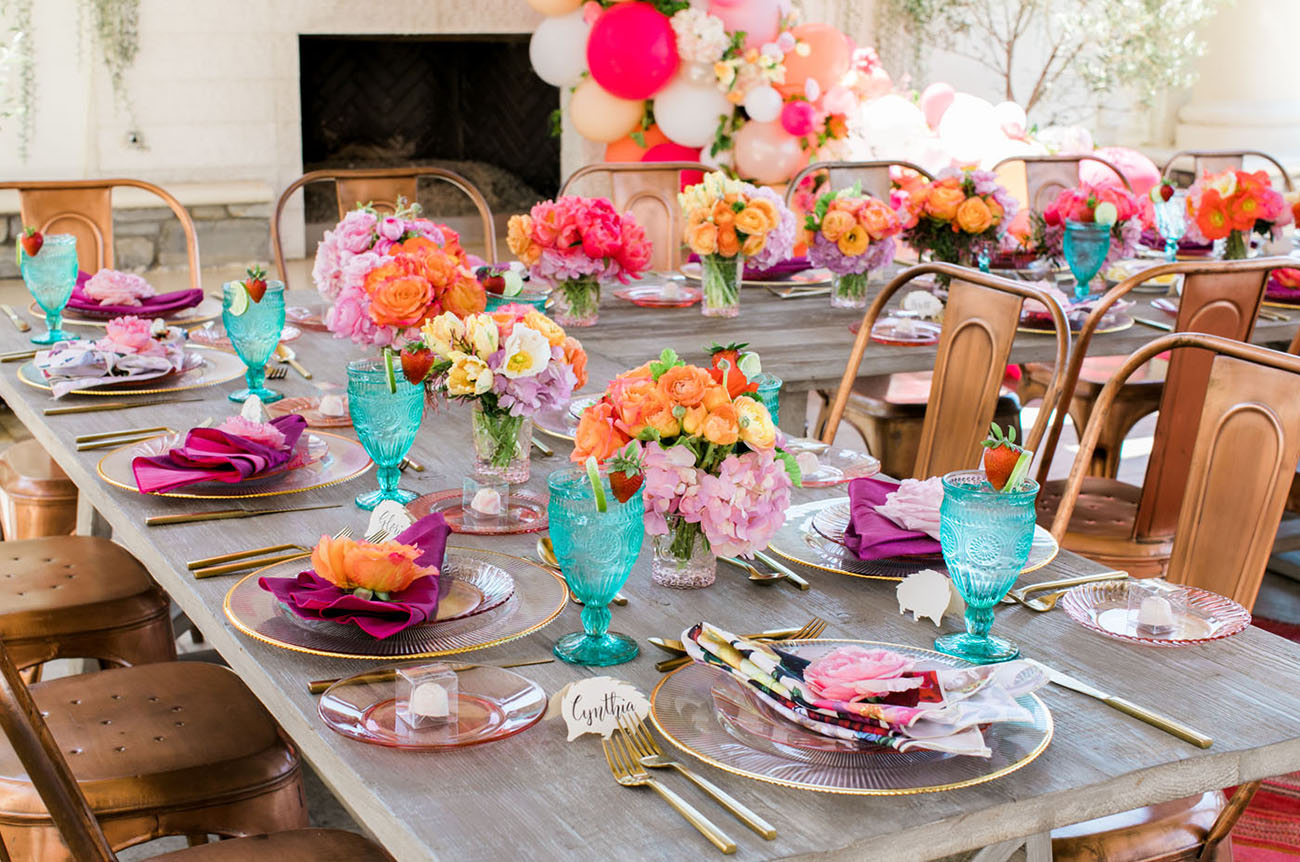 Bright Floral Bridal Shower
