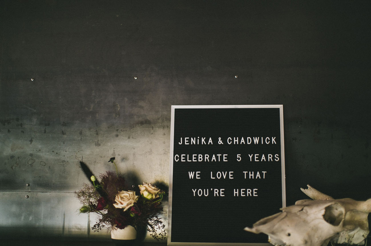 letter board wedding welcome