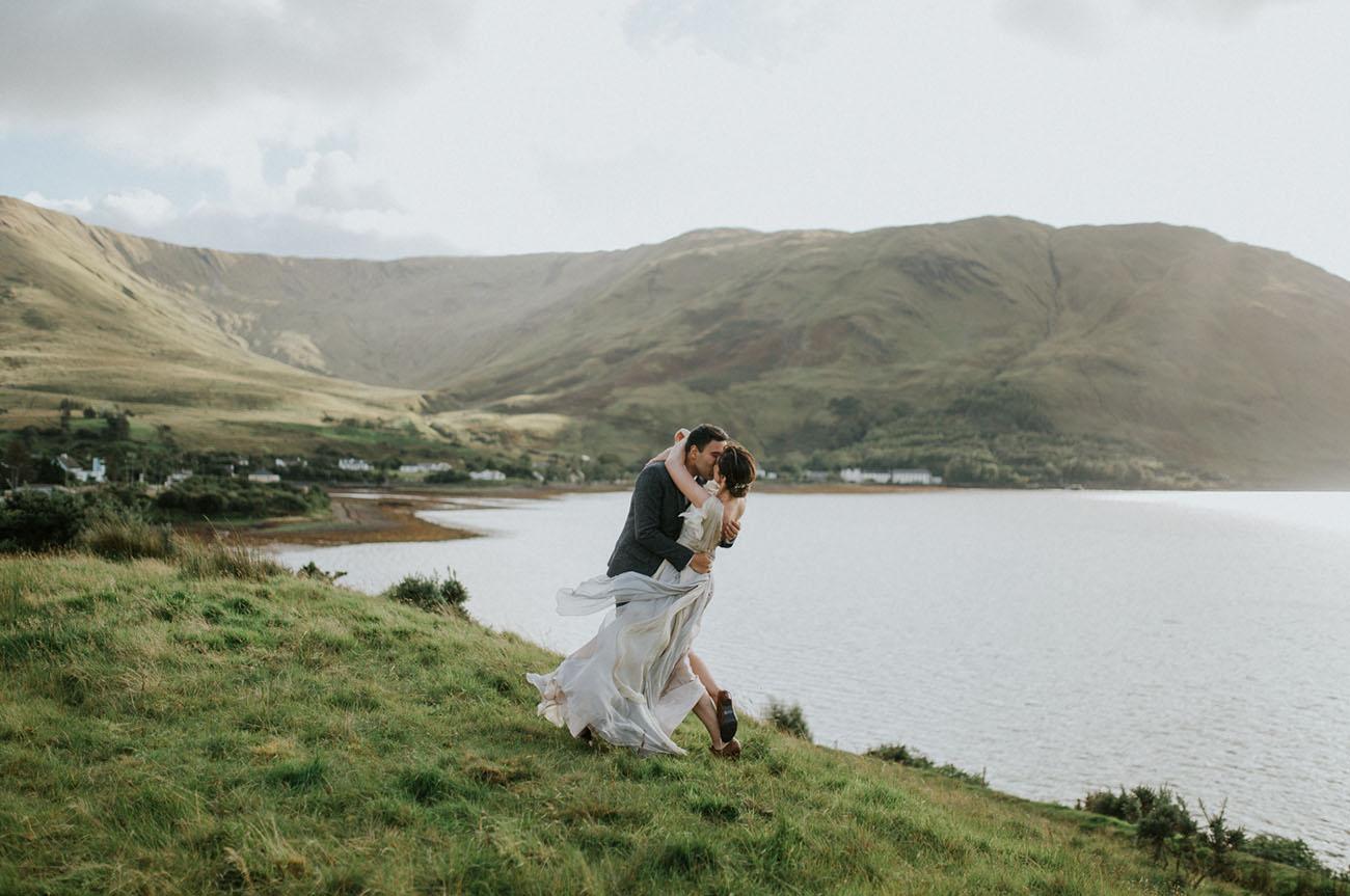 Ireland Destination Wedding | Utterly Enchanting Intimate Destination Wedding In Ireland Green