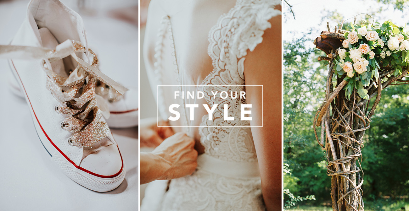 What's Your Wedding Style? Find Out With This Quiz! - Green Wedding