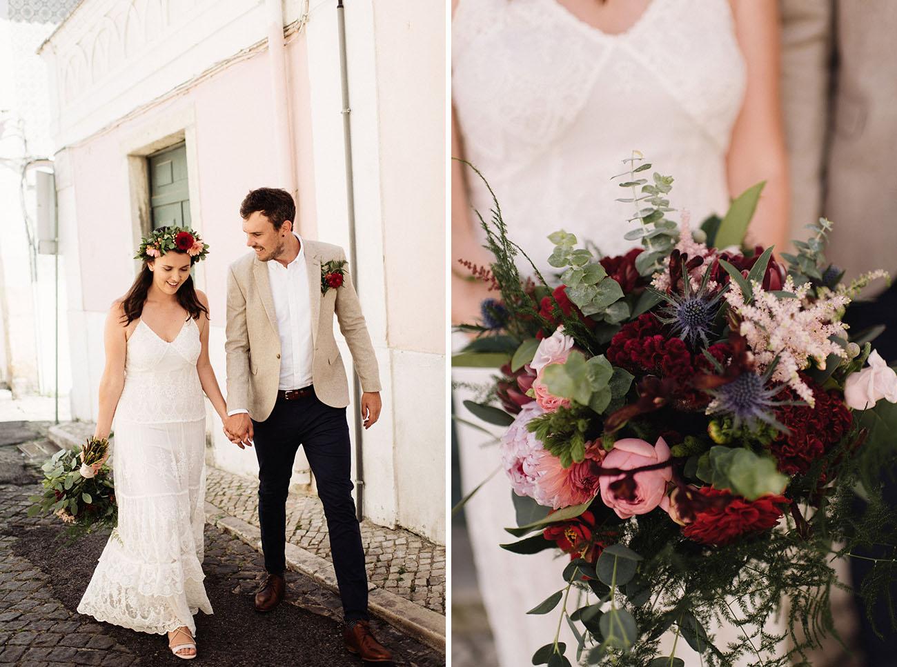 Surprise Lisbon adventure wedding