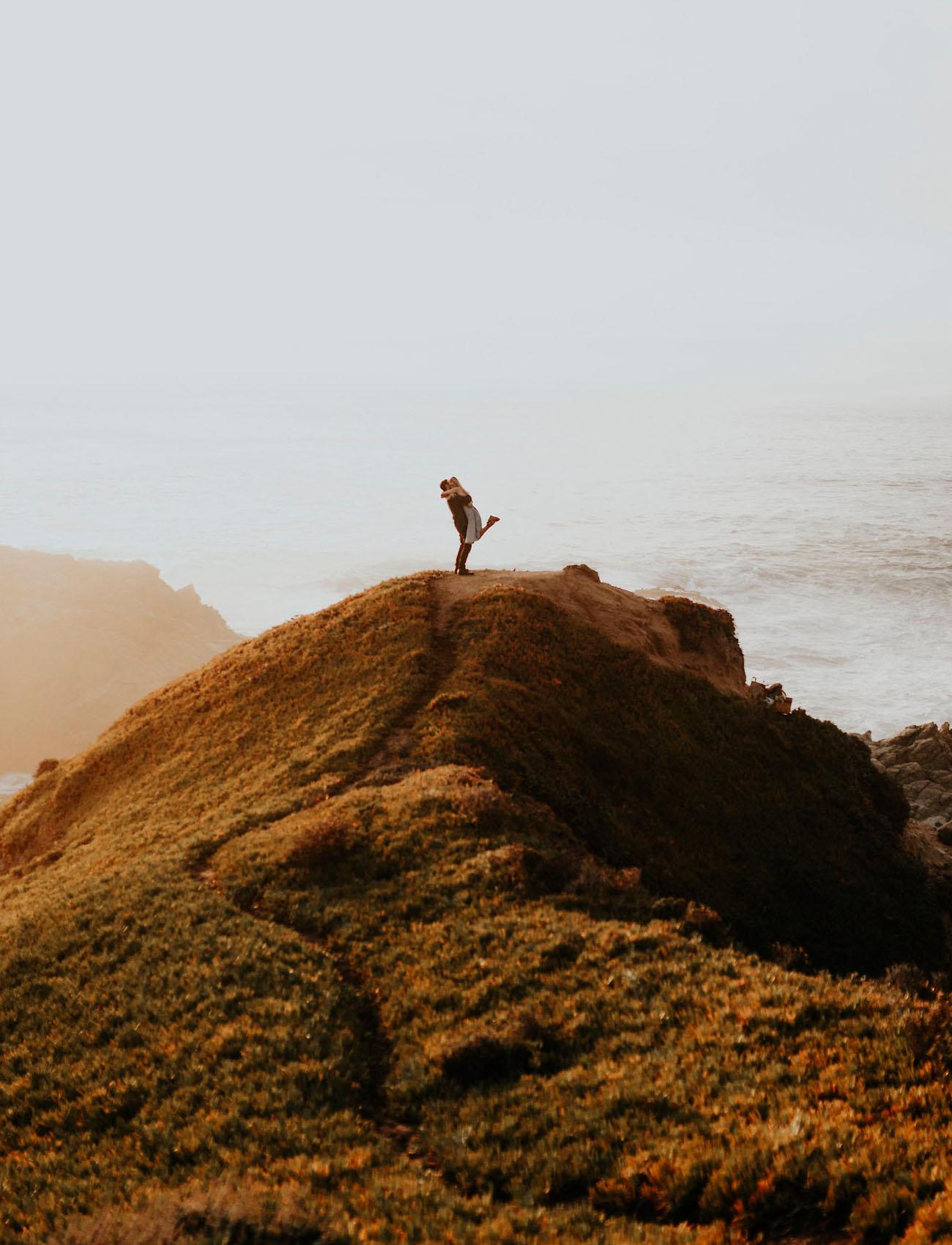 Secret Cliffside Proposal in Big Sur