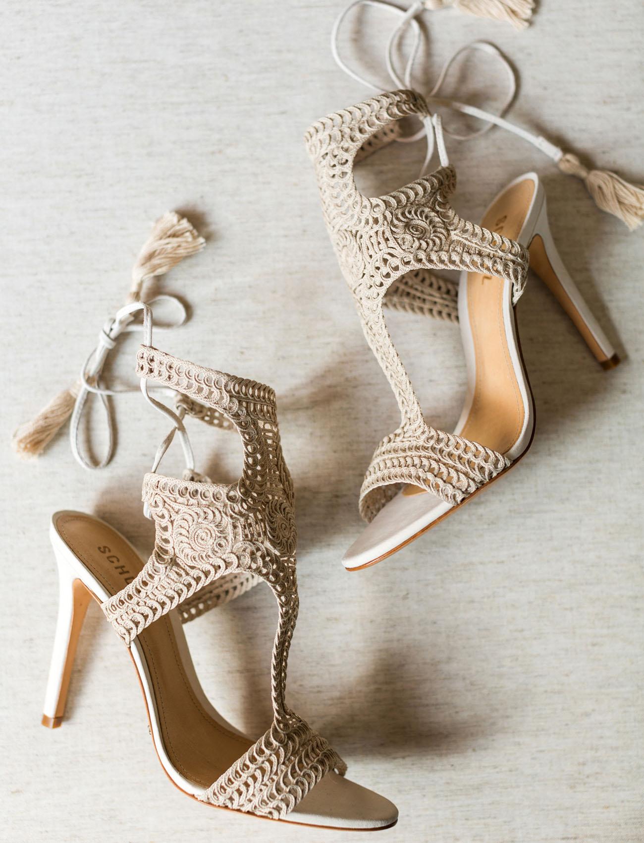 macrame heels