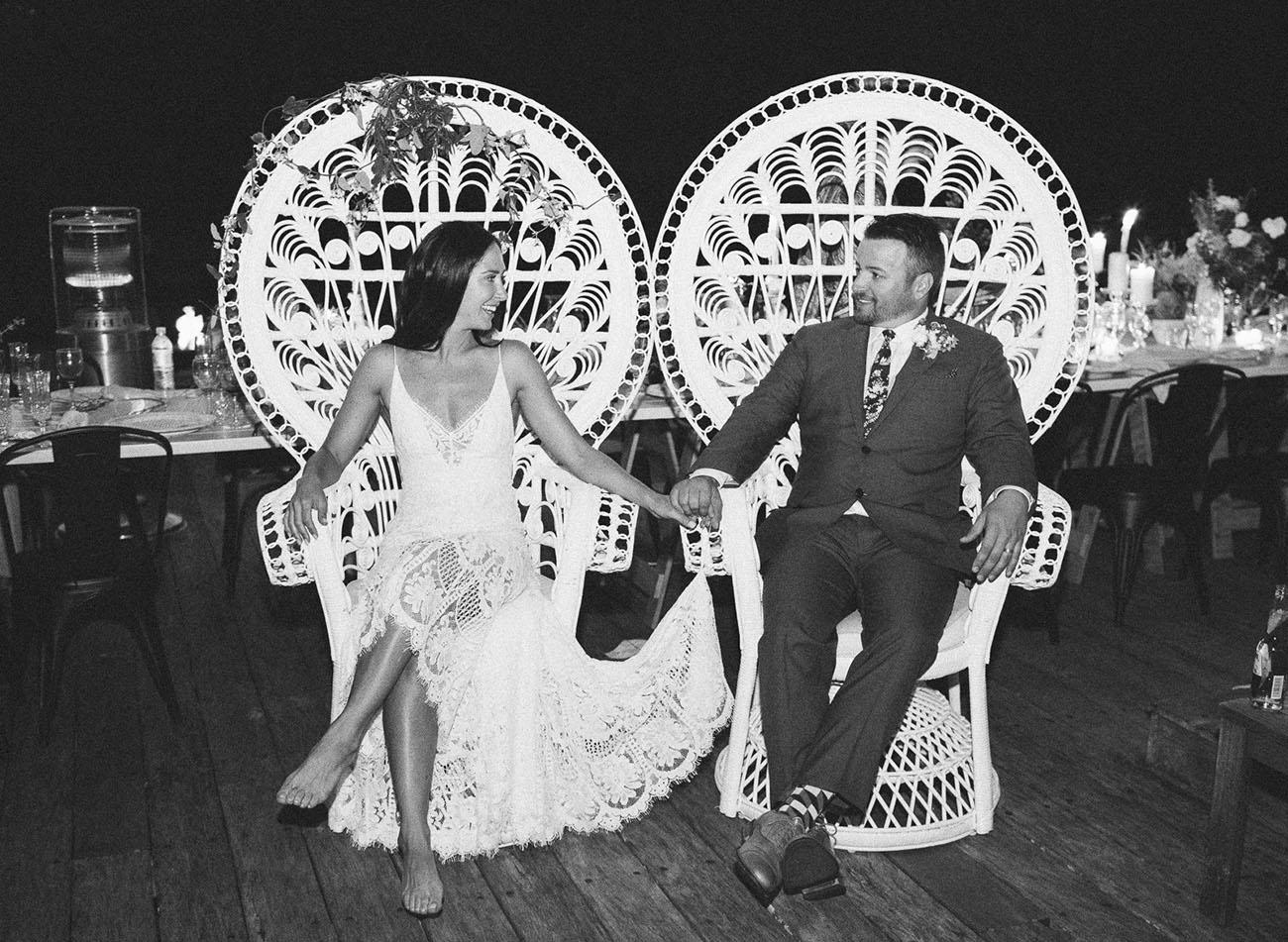 Intimate Australian Wedding