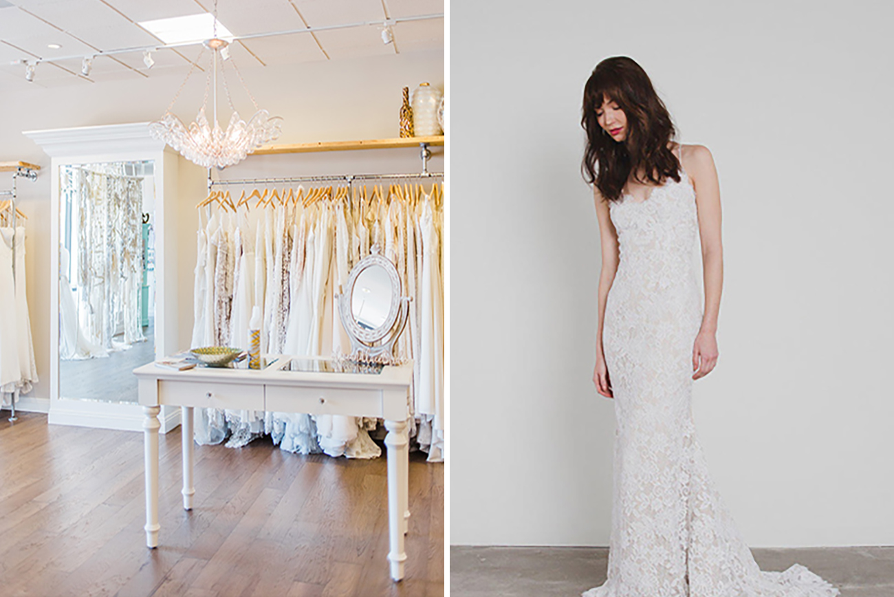 cac604eee8b64 Where to Shop for a Wedding Dress in Southern California - Green ...