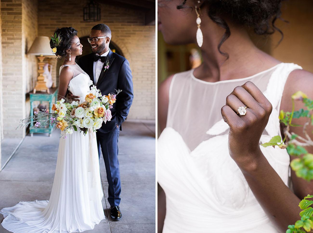 quartz wedding ring