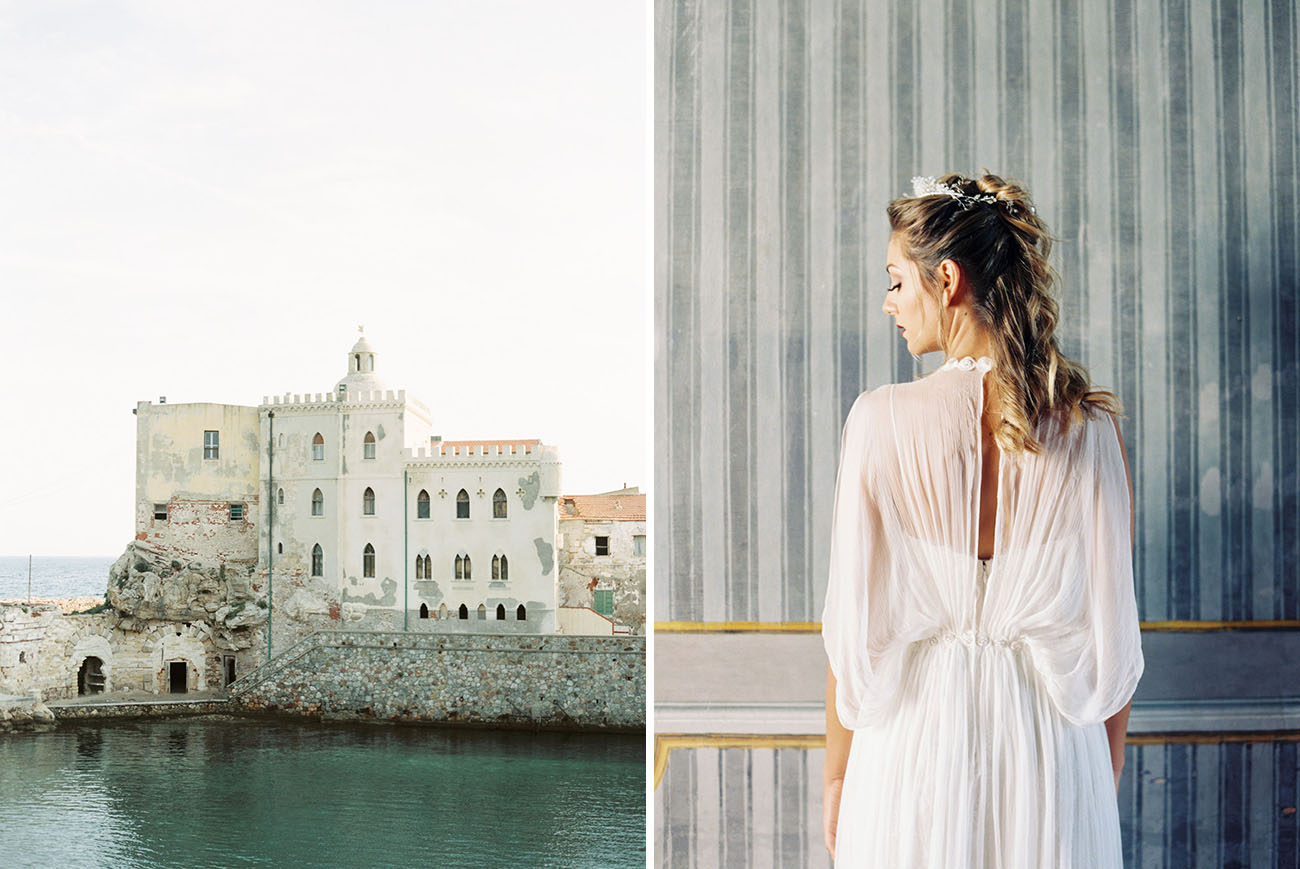 Pianosa Island Italy Wedding Inspiration