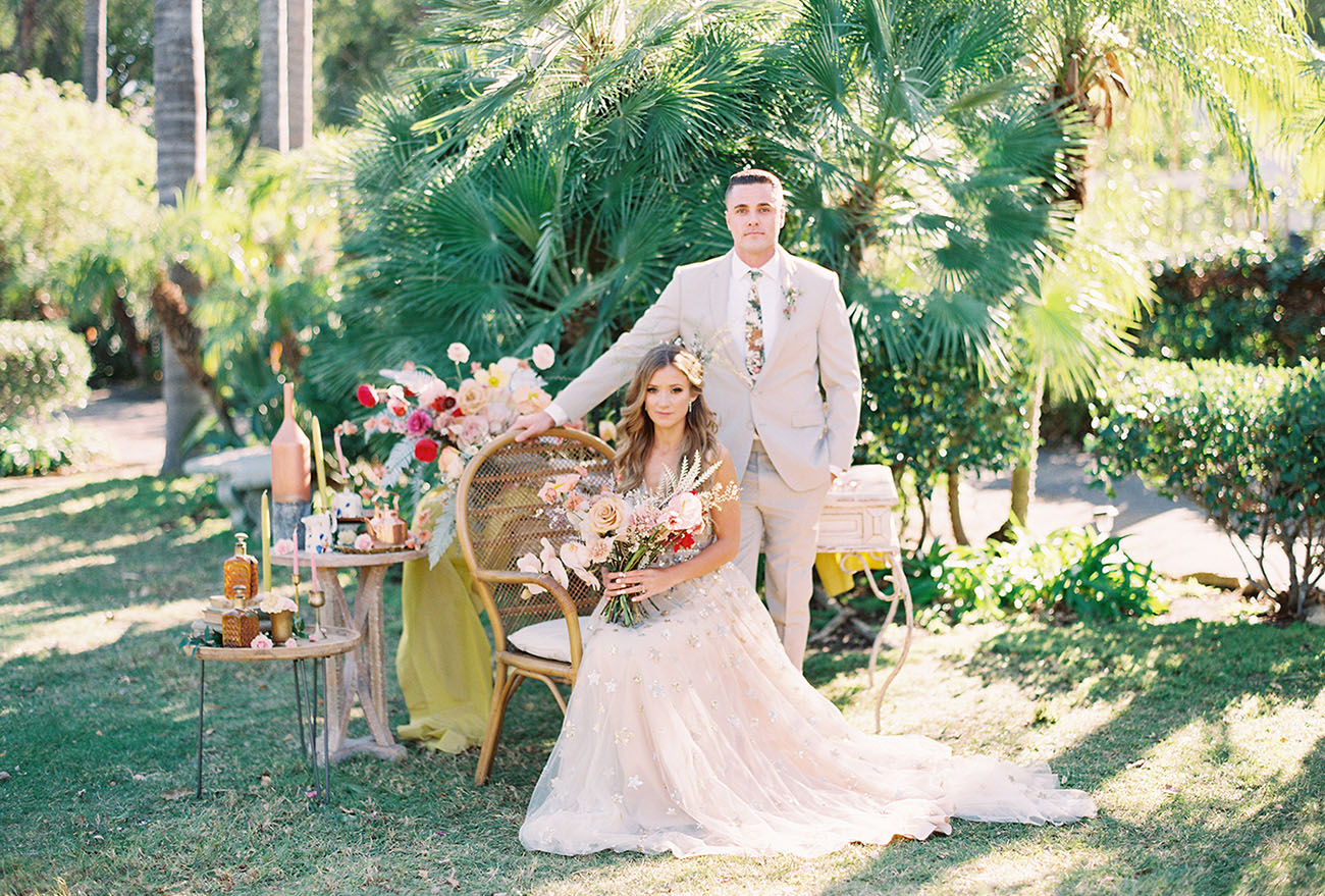 Tea For Two: Garden Party Wedding Inspiration Like You?ve Never Seen!