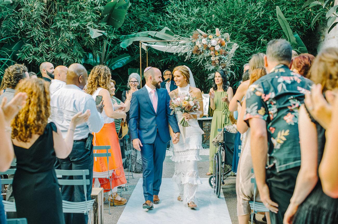 Millwick LA Boho Wedding