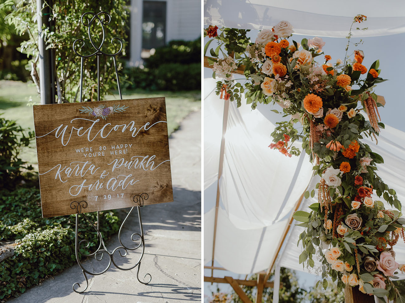 Modern, Bohemian-Inspired Outdoor Wedding With A Sikh