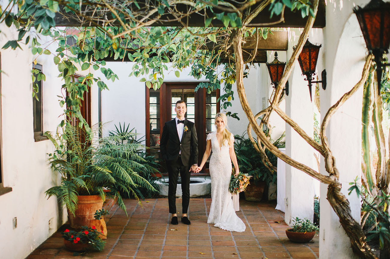 Romantic Southwestern Wedding