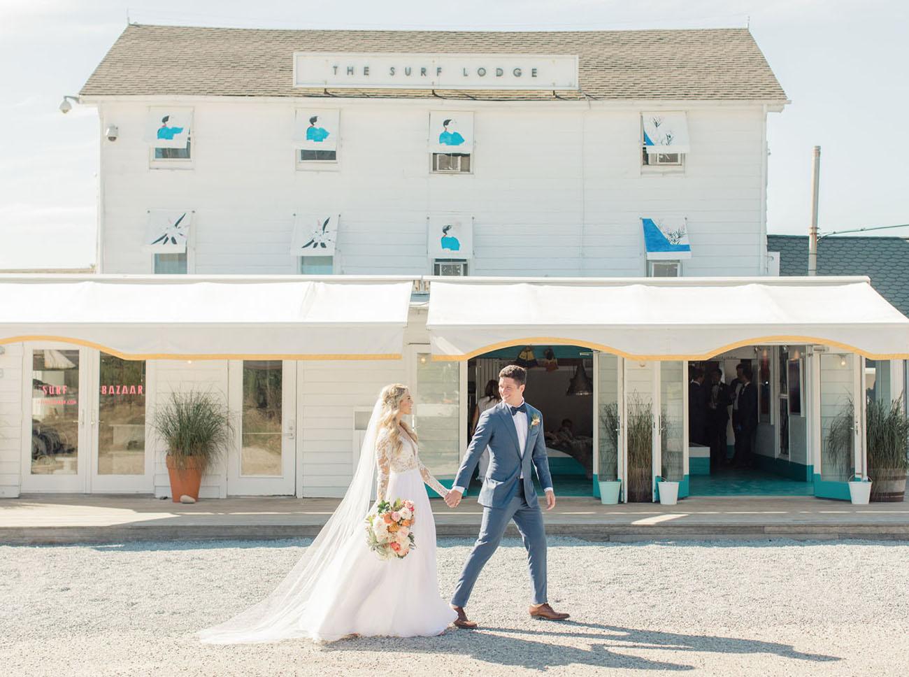 Surf Lodge Wedding in Montauk