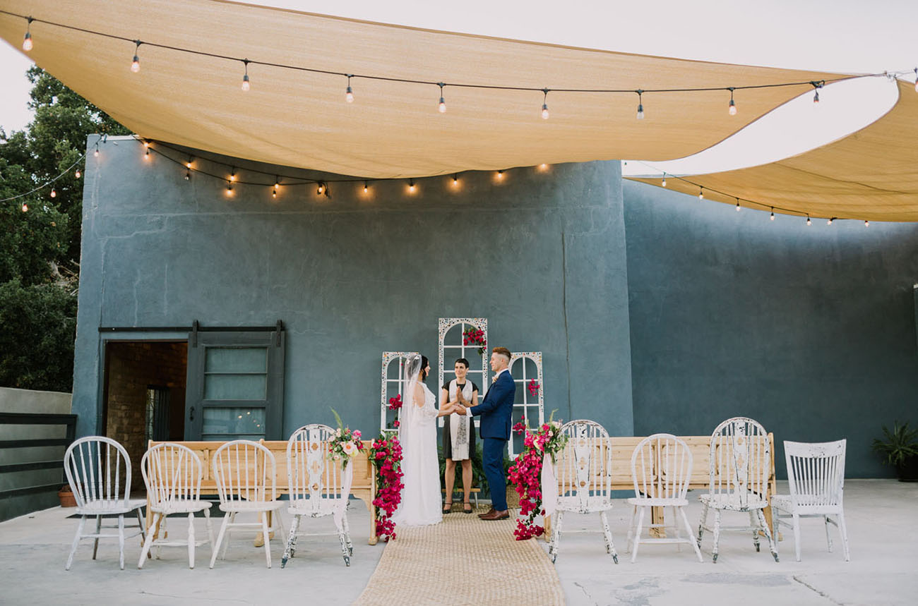 Vibrant Modern Wedding Inspiration