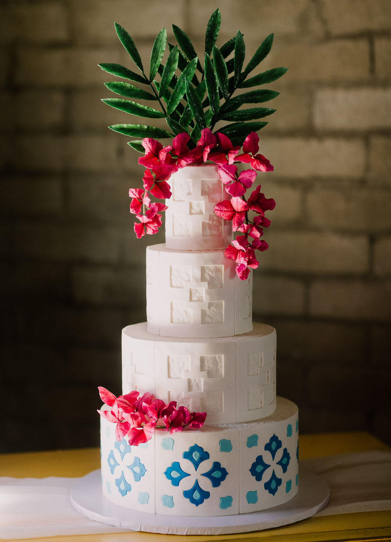 bougainvillea cake
