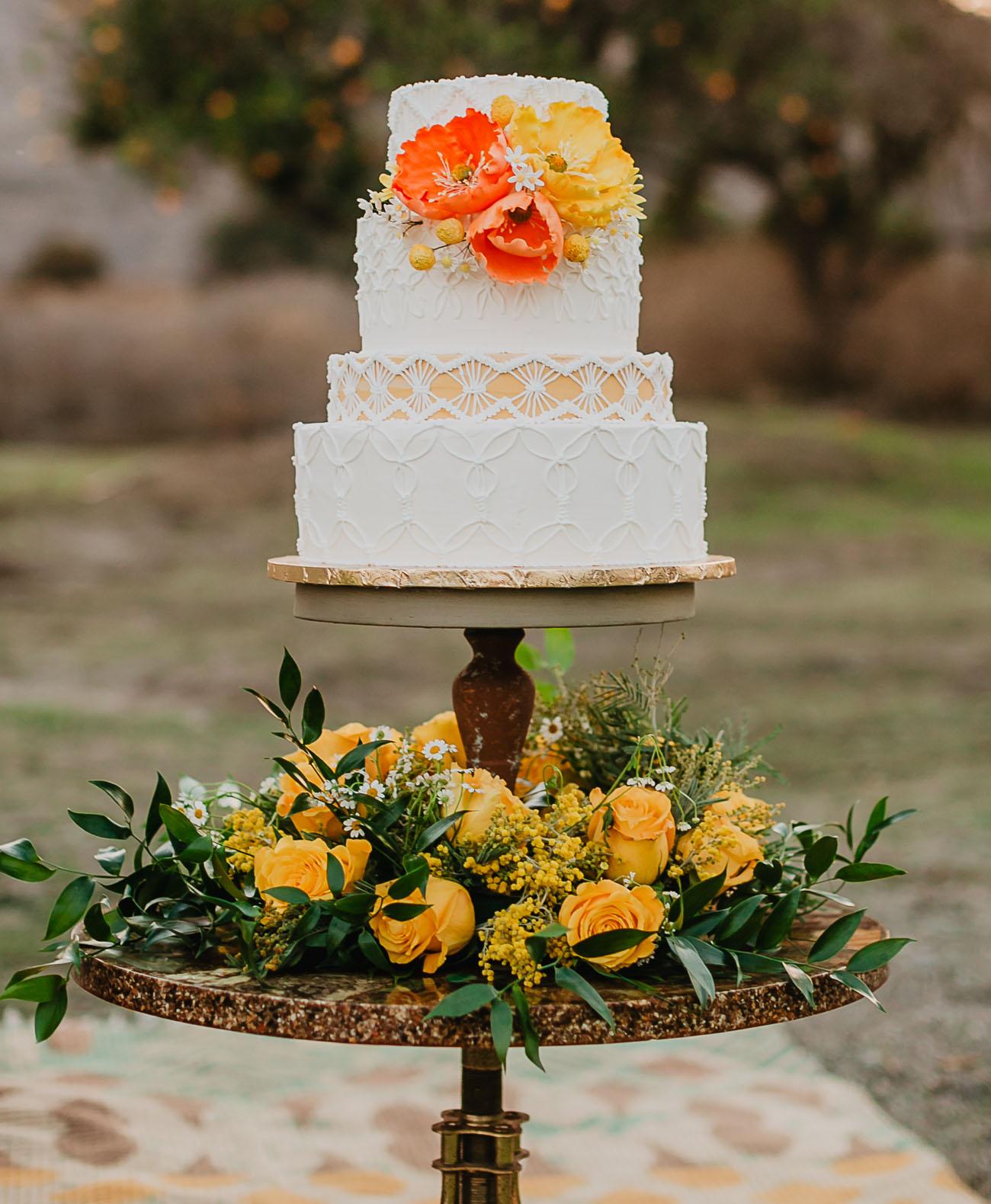 orange poppy cake