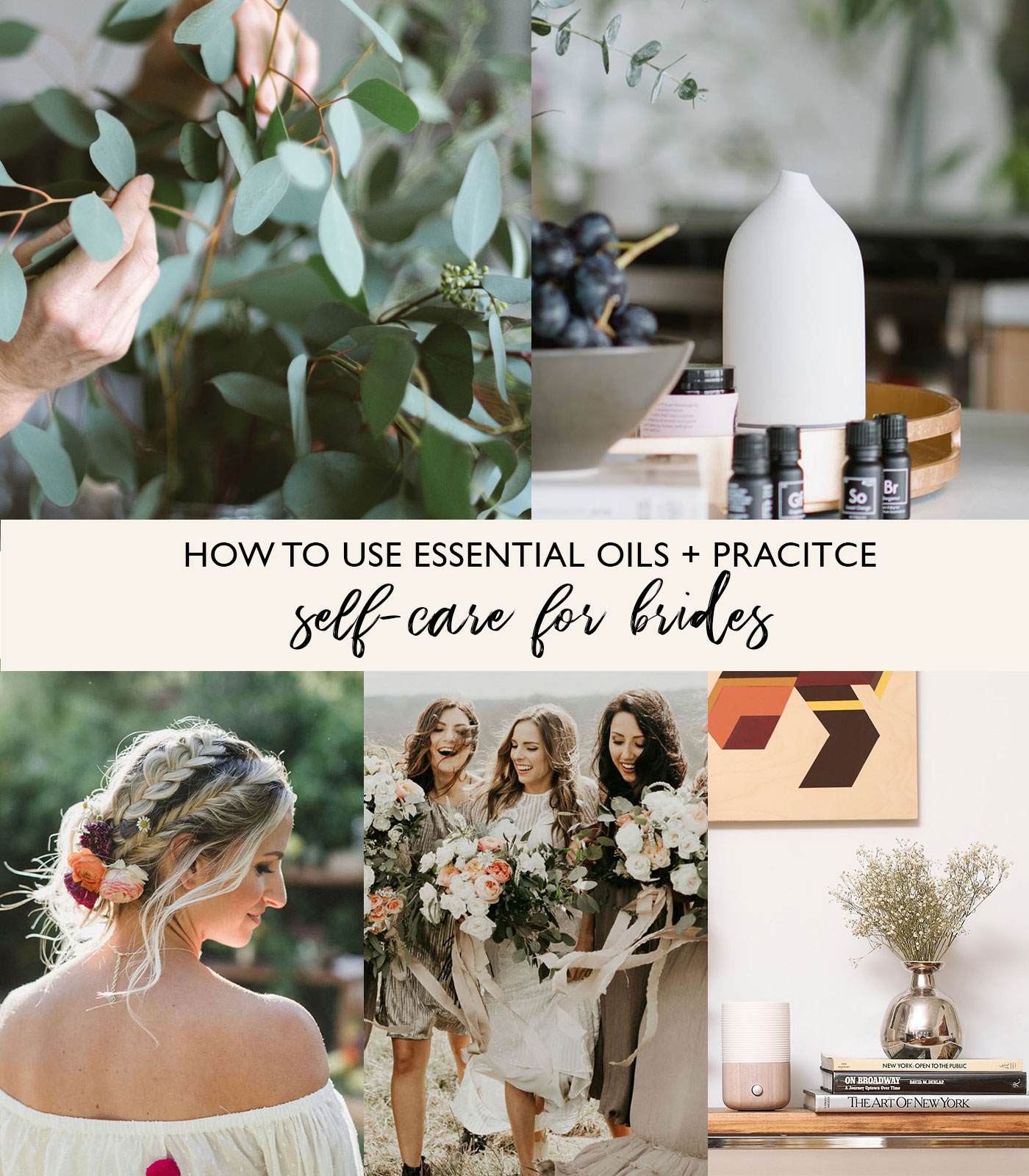 essential oils for bridal self care