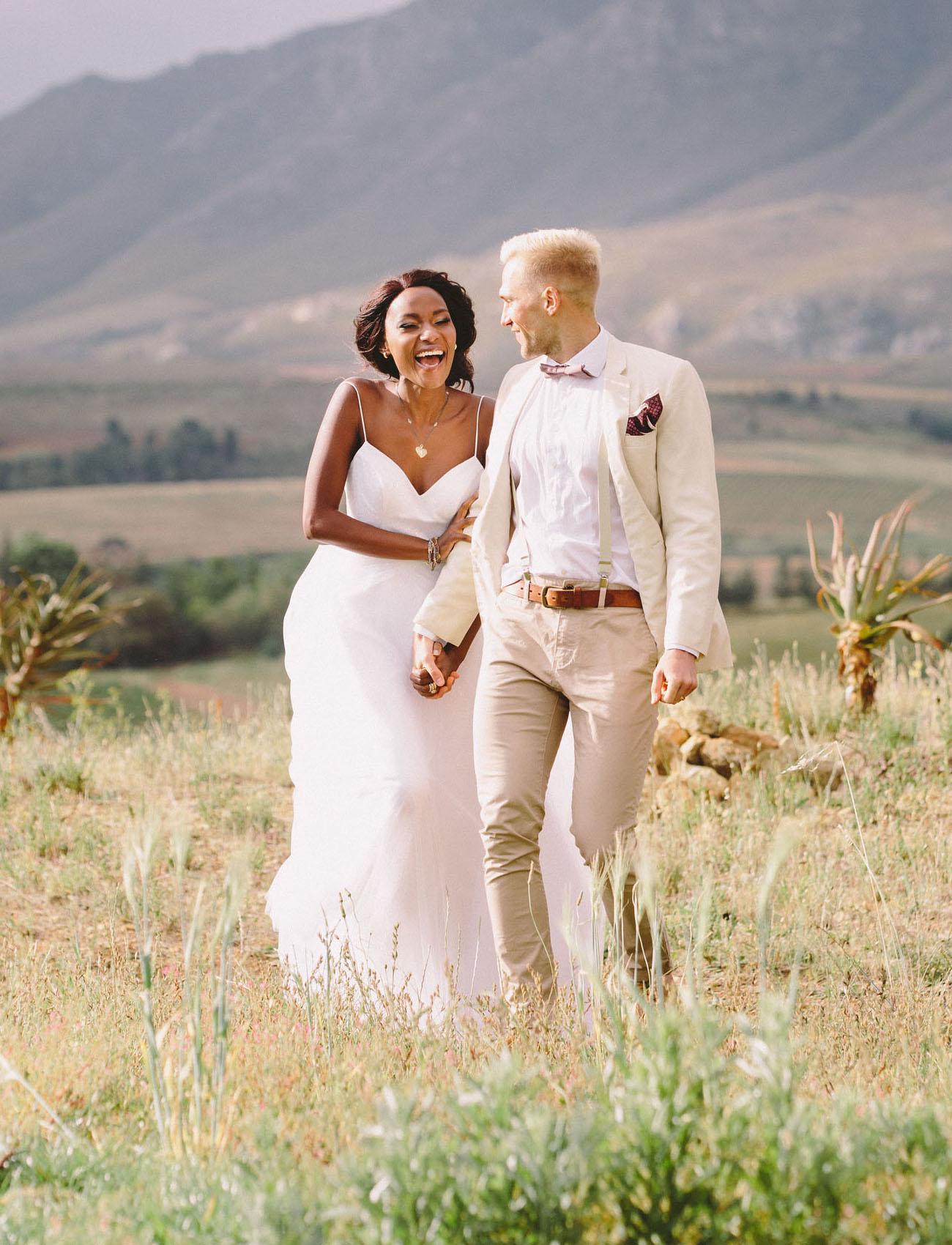 African Sunset Wedding Inspiration
