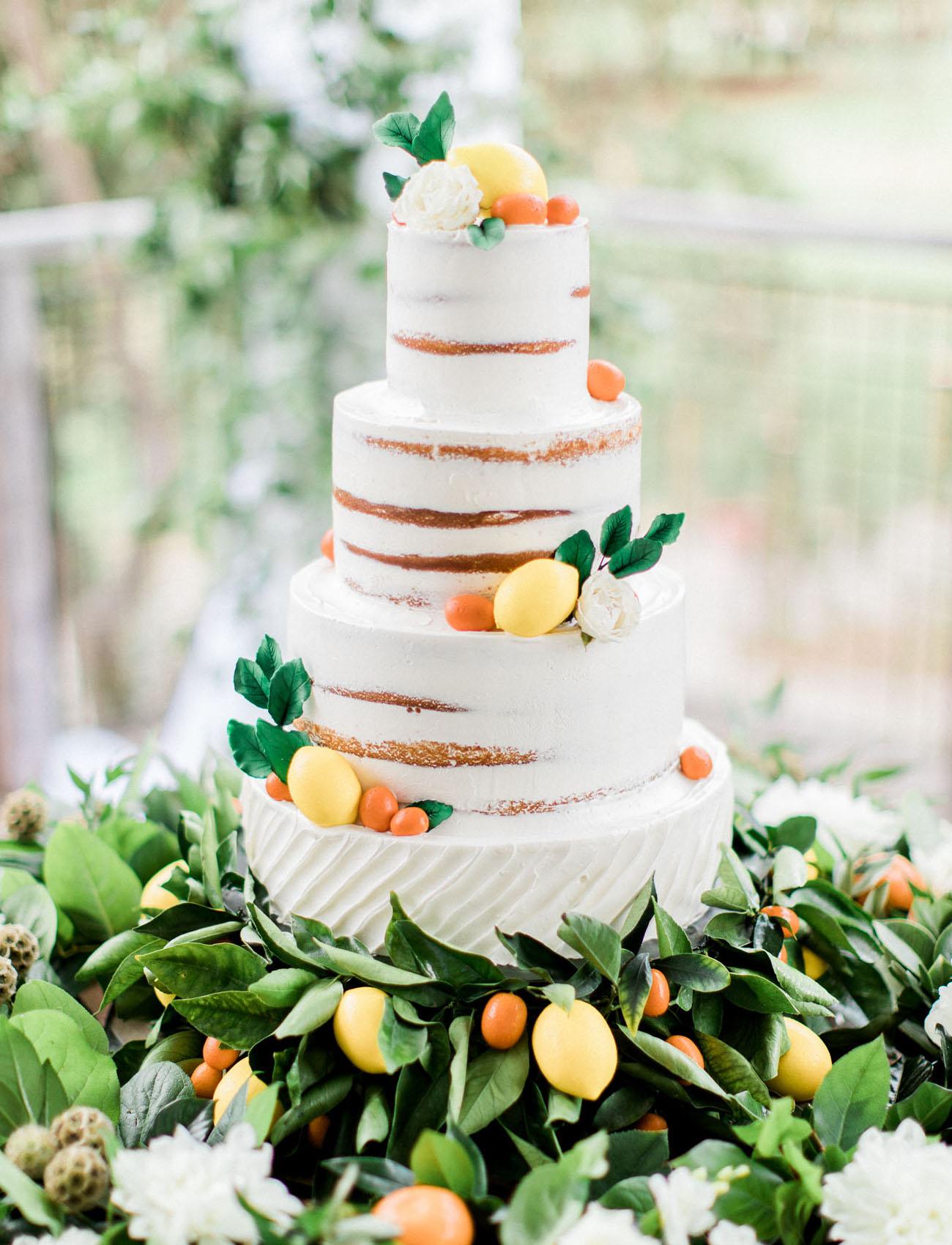 naked citrus cake