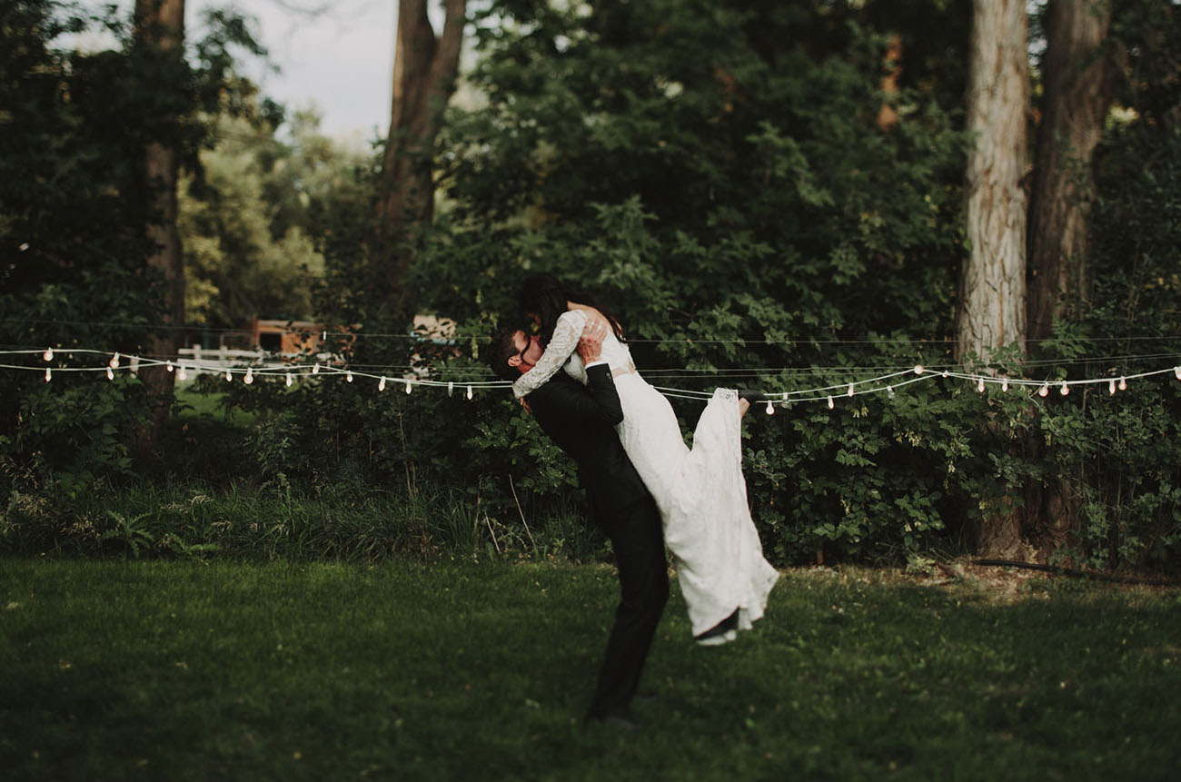 Modern Rustic Colorado Wedding