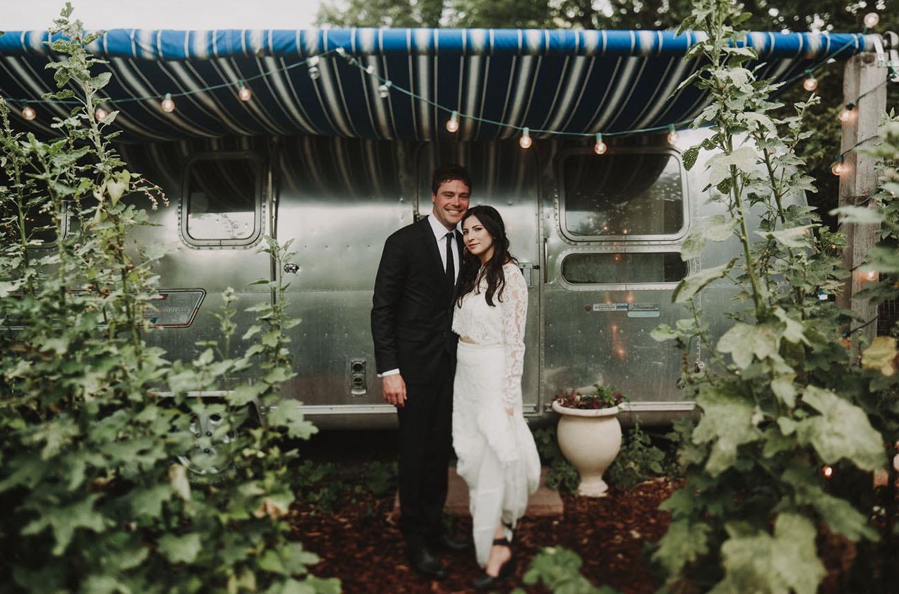 Modern Rustic Colorado Wedding