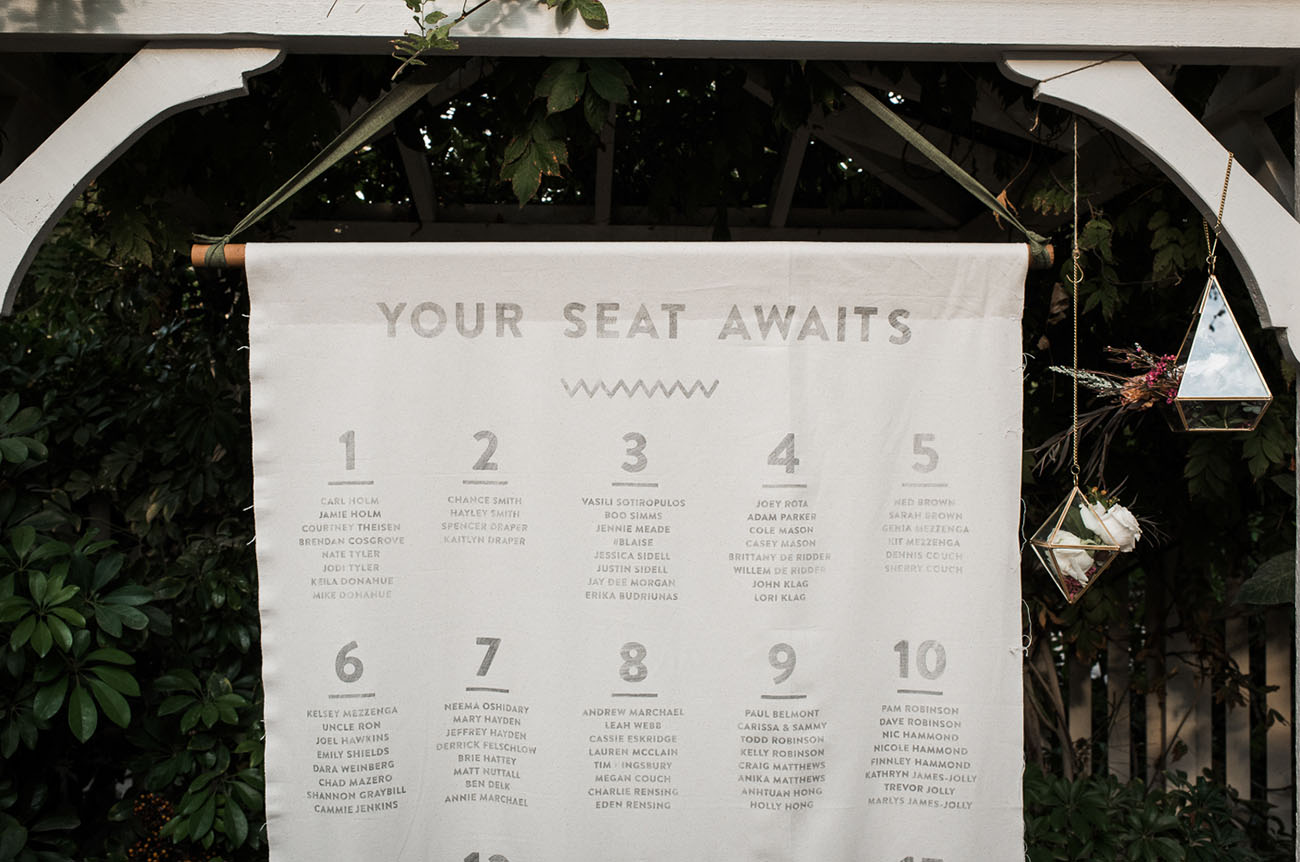 seating banner